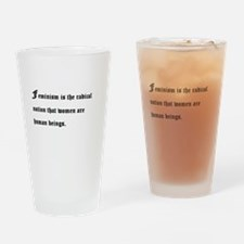 Gender Equality Drinking Glass