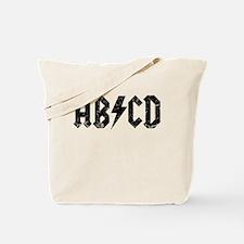 ABCD, Vintage, Tote Bag