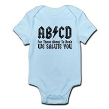 ABCD, We Salute You, Infant Bodysuit