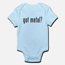 Got Metal? Infant Bodysuit