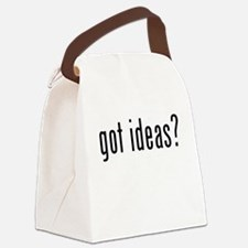 Got Ideas? Canvas Lunch Bag