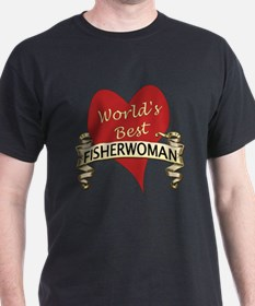 Unique Fisherwoman T-Shirt