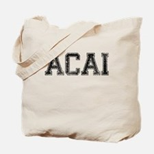 ACAI, Vintage Tote Bag