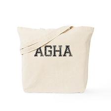 AGHA, Vintage Tote Bag