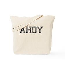 AHOY, Vintage Tote Bag