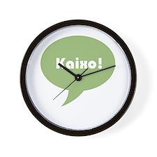 Kaixo Wall Clock