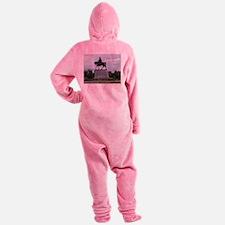 P G T Beauragard Footed Pajamas