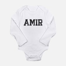 AMIR, Vintage Long Sleeve Infant Bodysuit