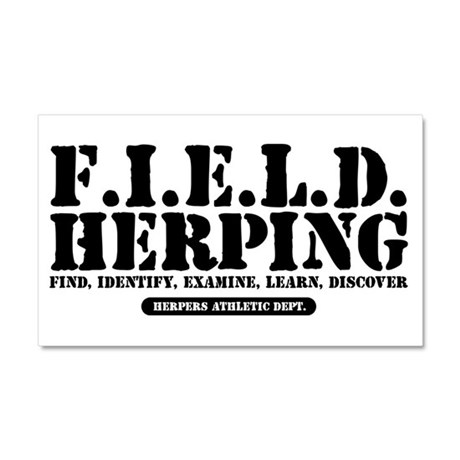F.I.E.L.D. Herping Find, Identify, Examine, Learn,