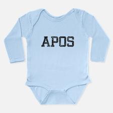APOS, Vintage Long Sleeve Infant Bodysuit