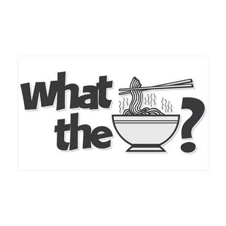 What the Pho? 35x21 Wall Decal