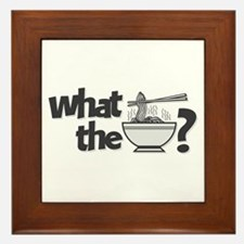 What the Pho? Framed Tile