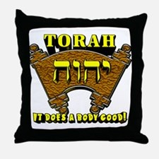 Torah! Throw Pillow