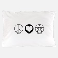 Peace Love and Magick on light Pillow Case