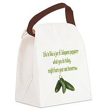 Jalapeno Burn Canvas Lunch Bag