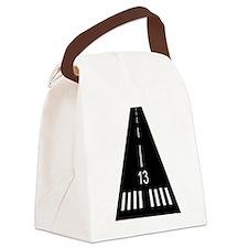 Dinner Runway Canvas Lunch Bag