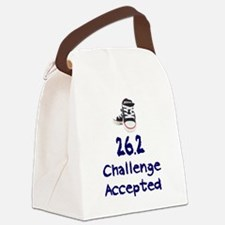 26.2 Challenge Accepted Canvas Lunch Bag