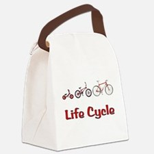 Life Cycle Canvas Lunch Bag