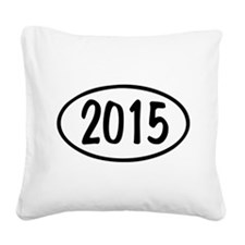 2015 Oval Square Canvas Pillow