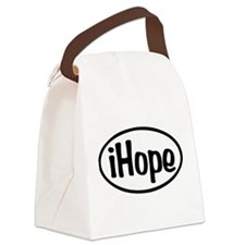 iHope Oval Canvas Lunch Bag