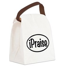 iPraise Oval Canvas Lunch Bag