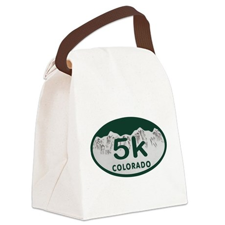 5K Colo Oval Canvas Lunch Bag