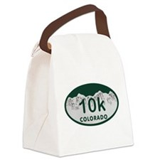 10K Colo License Plate Canvas Lunch Bag