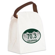 70.3 Colo License Plate Canvas Lunch Bag