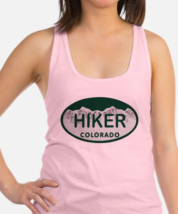 Hiker Colo License Plate Racerback Tank Top