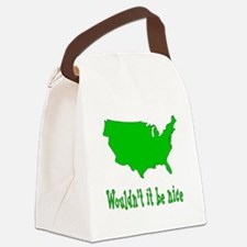 Wouldn't it be nice Canvas Lunch Bag