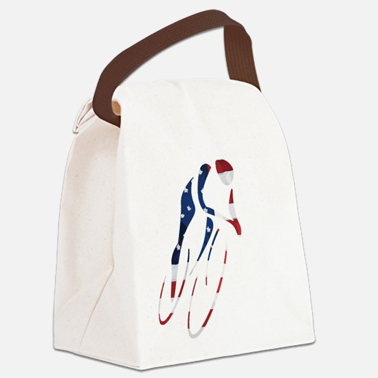 USA Cycling Canvas Lunch Bag