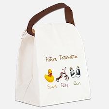 Future Triathlete Canvas Lunch Bag