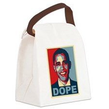 Dope Obama Canvas Lunch Bag