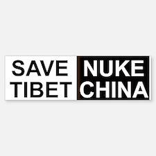 Save Tibet Bumper sticker