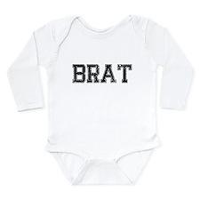 BRAT, Vintage Long Sleeve Infant Bodysuit
