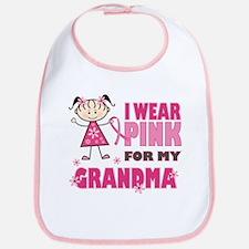 Wear Pink 4 Grandma Bib