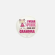 Wear Pink 4 Grandma Mini Button (10 pack)