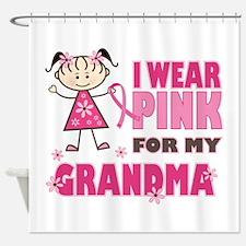 Wear Pink 4 Grandma Shower Curtain