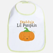 Daddys Little Pumpkin Bib