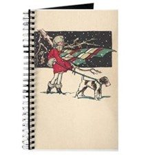 fox terrier holiday Journal