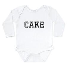 CAKE, Vintage Long Sleeve Infant Bodysuit