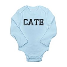 CATE, Vintage Long Sleeve Infant Bodysuit