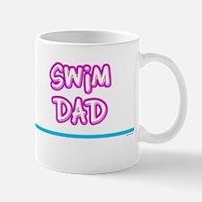 Swim Dad (girl) pink suit Mug