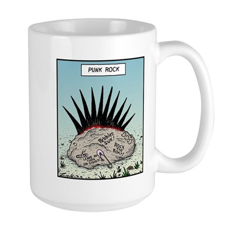 Punk Rock Large Mug