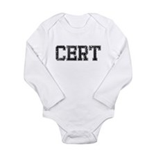 CERT, Vintage Long Sleeve Infant Bodysuit