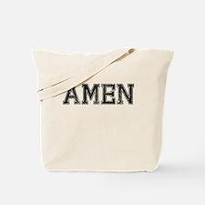 AMEN, Vintage Tote Bag