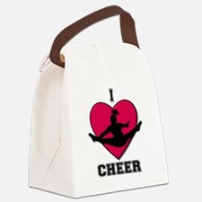 I love Cheerleading Canvas Lunch Bag