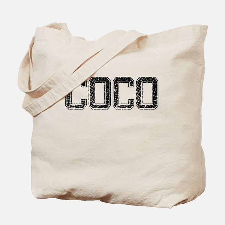 COCO, Vintage Tote Bag