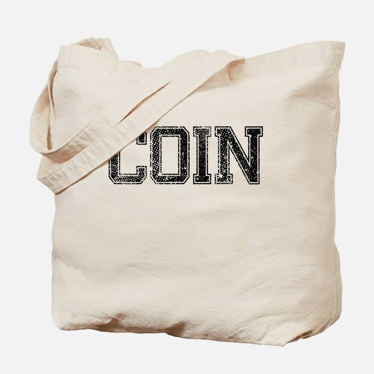 COIN, Vintage Tote Bag