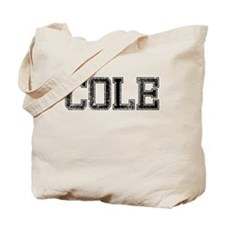 COLE, Vintage Tote Bag